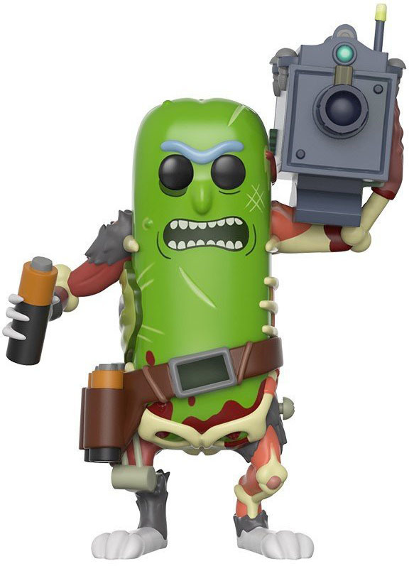 Rick & Morty – Pickle Rick (With Laser) Pop! Vinyl Figure image