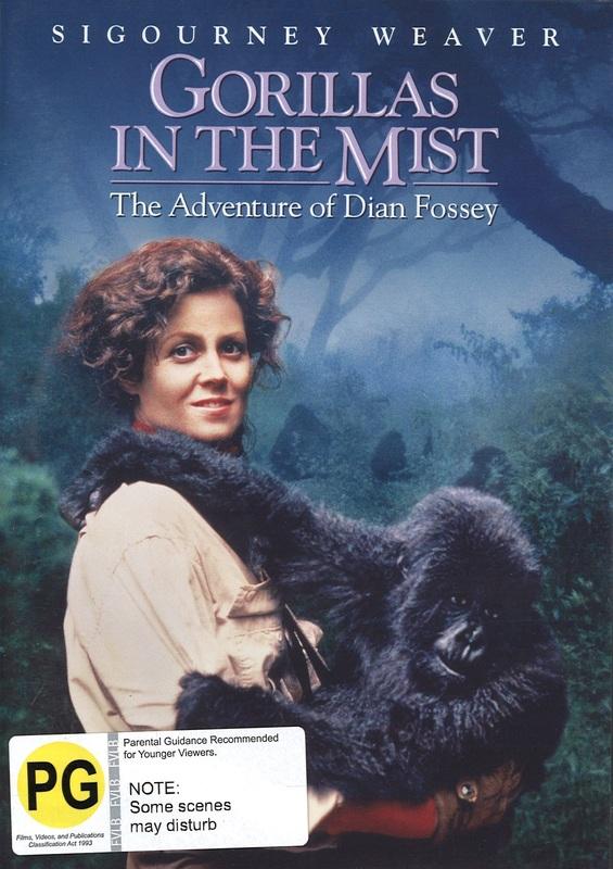 Gorillas In The Mist on DVD