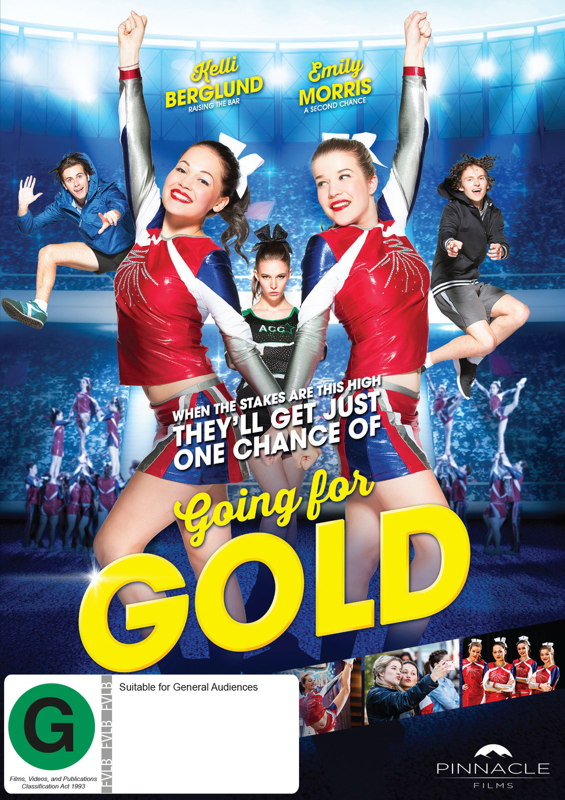 Going for Gold on DVD image