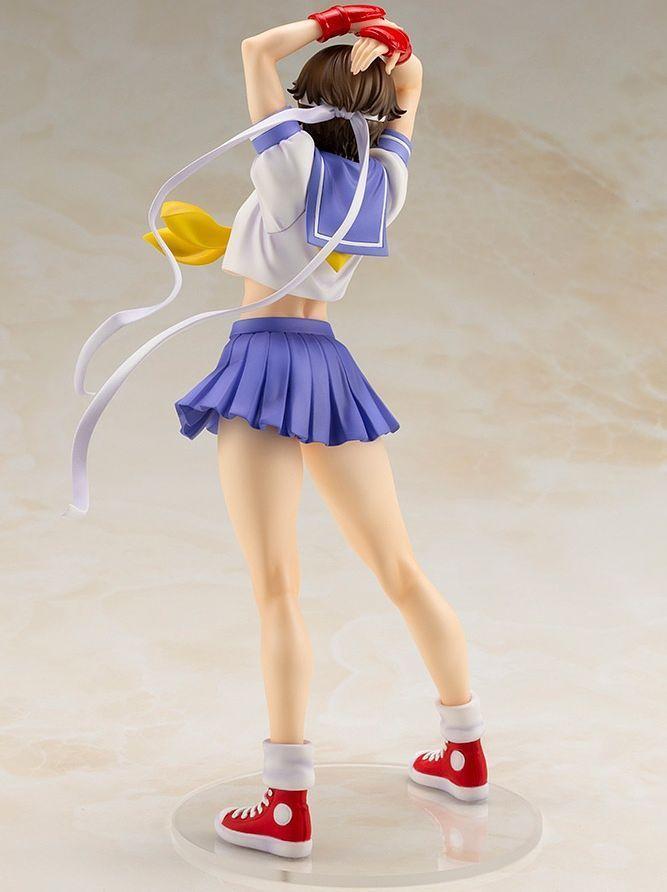 Street Fighter Bishoujo: 1/7 Sakura -Round 2- PVC Figure image