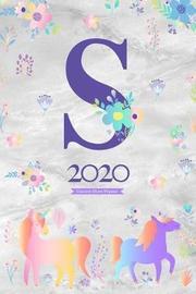 2020 Unicorn Diary Planner by Elizabeth Riley