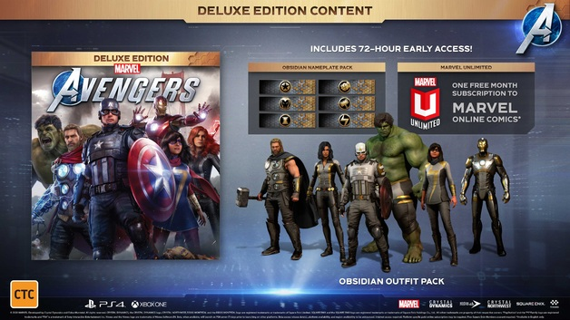 Marvel's Avengers Deluxe Edition for PS4