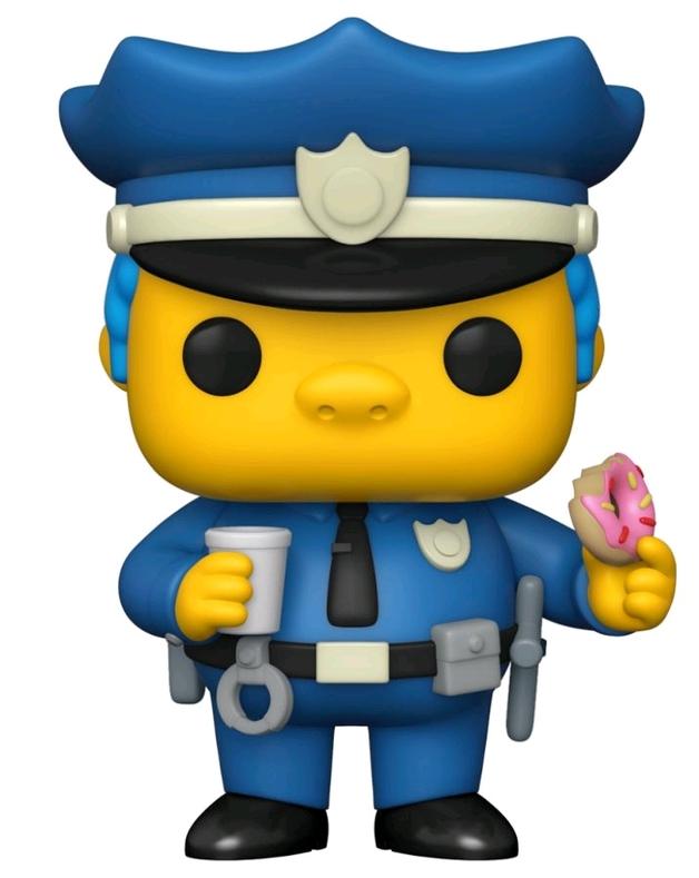 The Simpsons: Chief Wiggum - Pop! Vinyl Figure