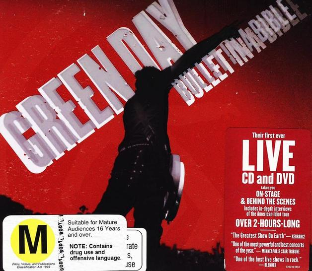 Bullet In A Bible [Explicit Lyrics] (CD and DVD) by Green Day