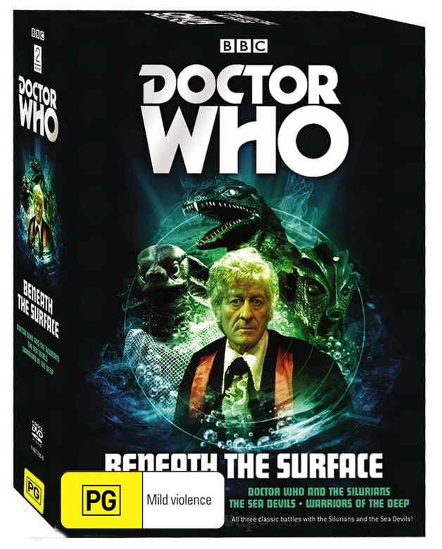 Doctor Who - Beneath the Surface Box Set on DVD