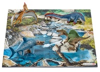 Schleich: Mini Dinosaurs & Water Hole Puzzle