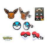 Pokemon Eevee Earring Set
