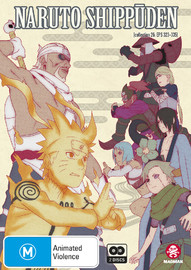 Naruto Shippuden - Collection 26 (Eps 323-335) on DVD