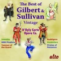 Best of Vintage Gilbert & Sullivan by Gilbert & Sullivan