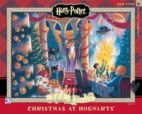 New York Puzzle Company: 500 Piece Puzzle - Christmas At Hogwarts