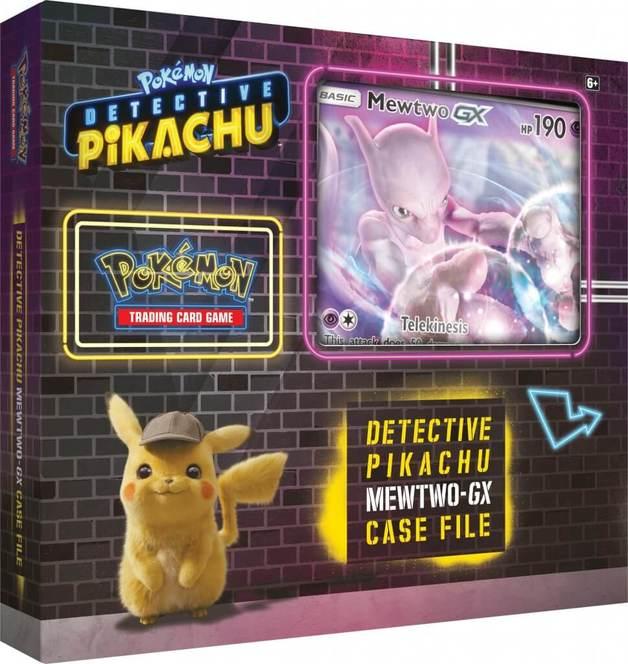 Pokemon TCG: Detective Pikachu - GX Case File (Mewtwo)