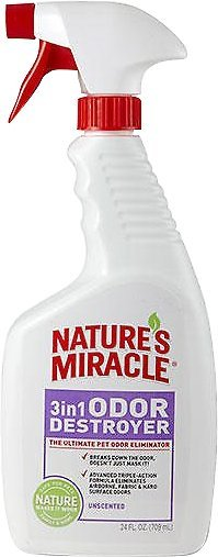 Natures Miracle: Unscented Stain And Odour Remover For Dogs 946ml image