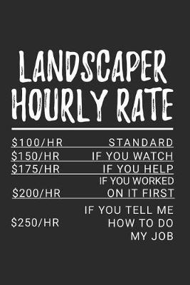 Landscaper Hourly Rate by Hafiz Aldino