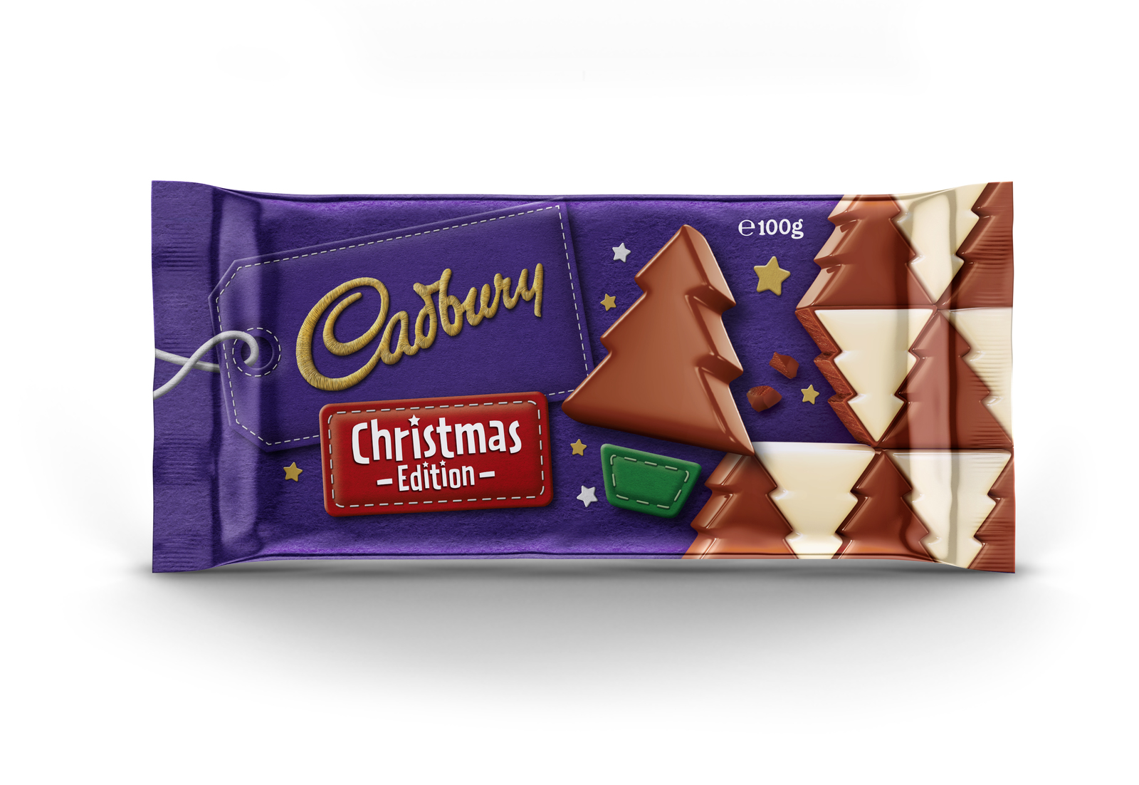 Cadbury Christmas Block (100g) image