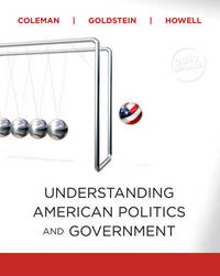 Understanding American Politics and Government by John J Coleman image