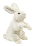 Folkmanis Hand Puppet - Standing White Rabbit