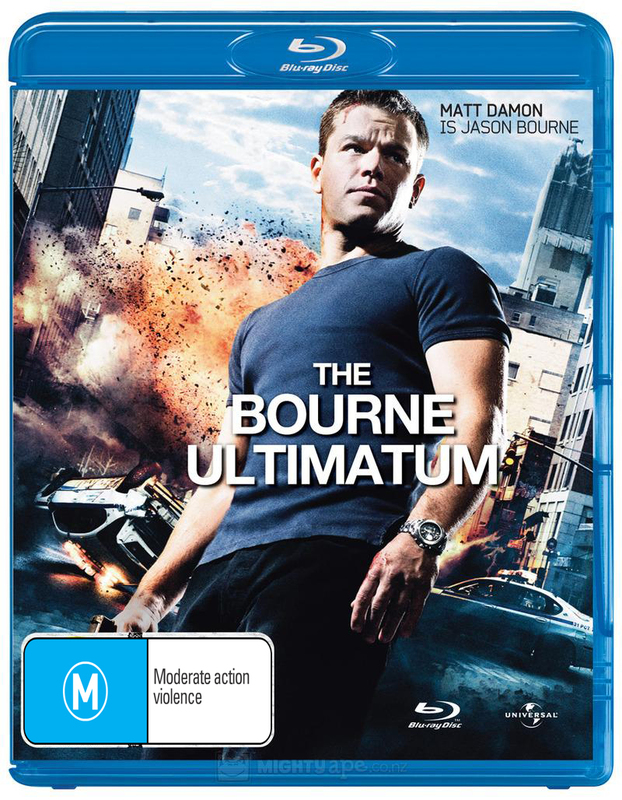 The Bourne Ultimatum on Blu-ray