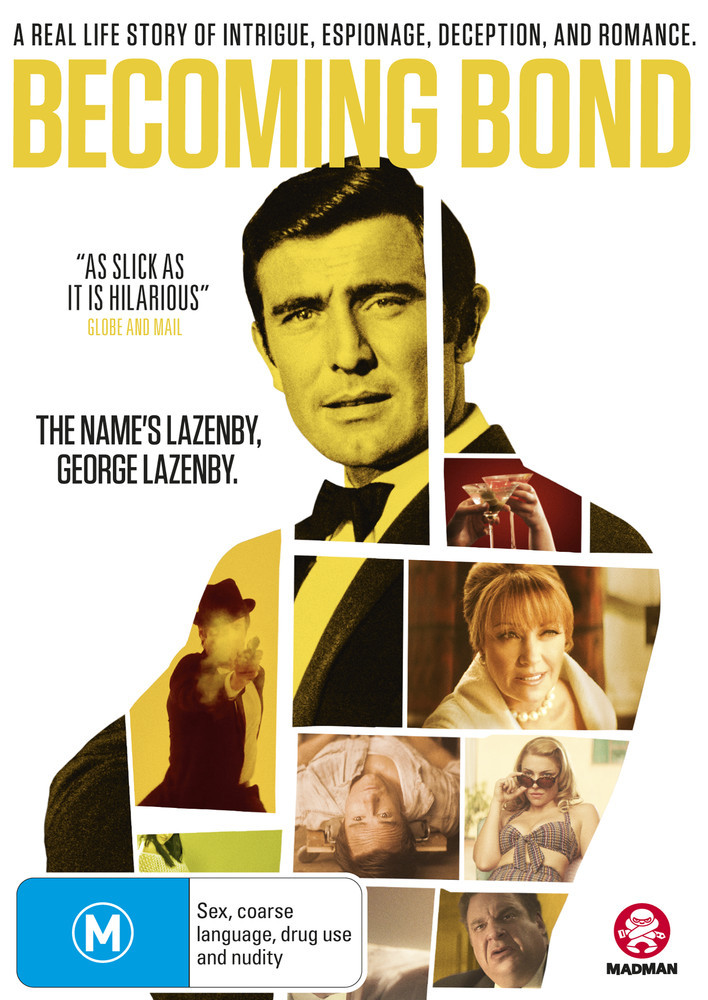 Becoming Bond on DVD image