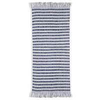 Bambury Corsica Towel (White/Navy)