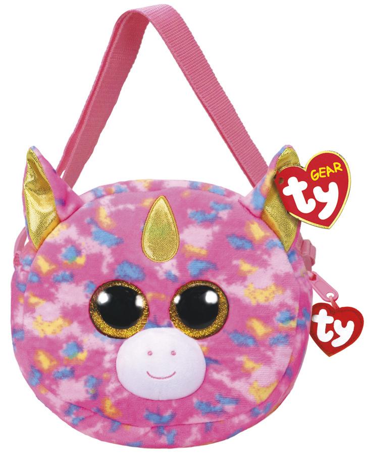 Ty Gear  Fantasia Unicorn - Plush Purse image ddb8c7ccaf3