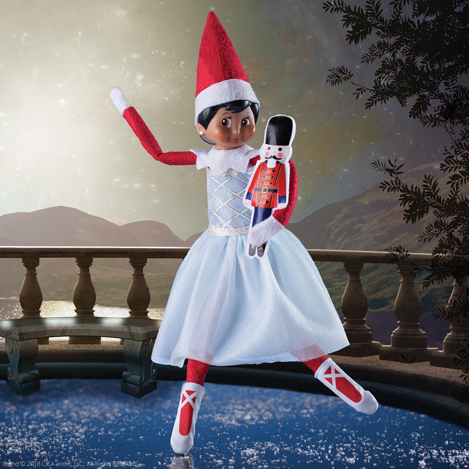 Elf on the Shelf: 2018 Couture - Snowy Sugar Plum duo image