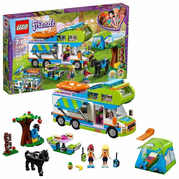 Lego Friends Mias Camper Van 41339 Toy At Mighty Ape Nz
