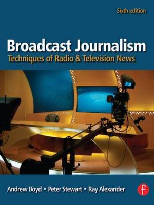 Broadcast Journalism by Andrew Boyd image