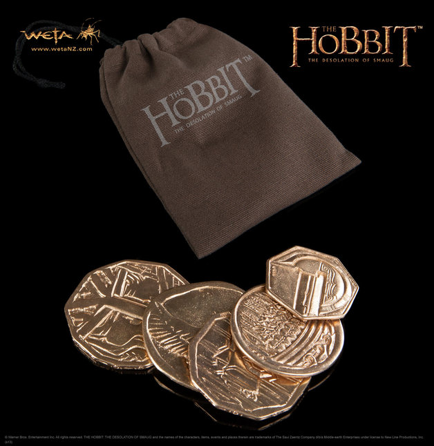 The Hobbit: Desolation of Smaug Treasure Coin Pouch - by Weta