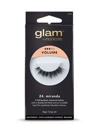 Glam by Manicare - 24. Miranda Volume Lashes