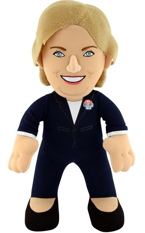 "Bleacher Creatures: Hillary Clinton - 10"" Plush Figure"