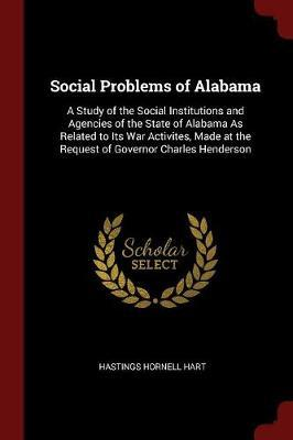 Social Problems of Alabama by Hastings Hornell Hart
