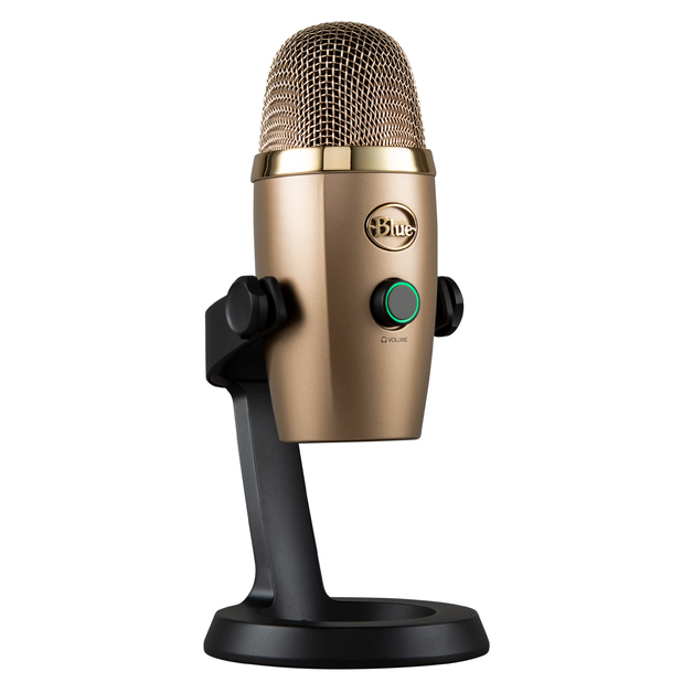Blue Microphones Yeti Nano Premium USB Microphone - Cubano Gold for