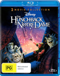 The Hunchback of Notre Dame: 2 Movie Collection on Blu-ray