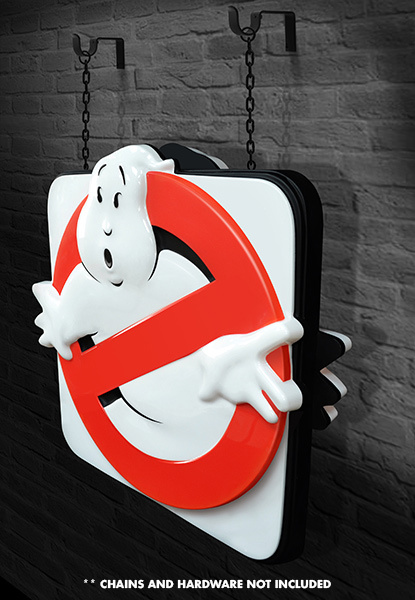 Ghostbusters: Firehouse Sign - 1:1 Scale Prop Replica