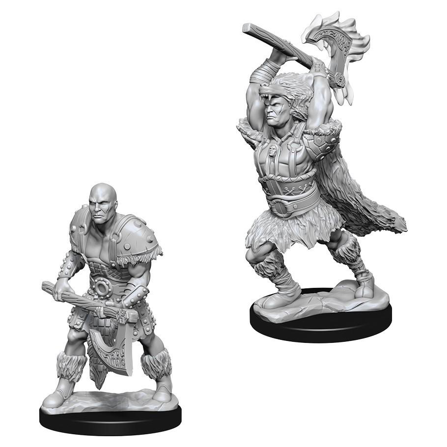 D&D Nolzur's Marvelous: Unpainted Miniatures - Male Goliath Barbarian image