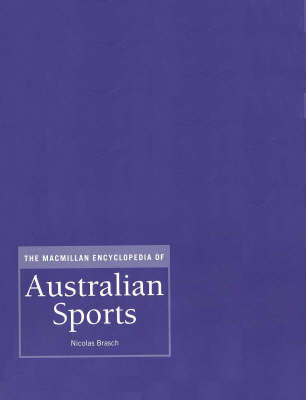 MAC Ency Australian Sports: 7 Vol Set by Nicolas Brasch image