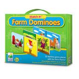 Match It! Dominoes - Farm