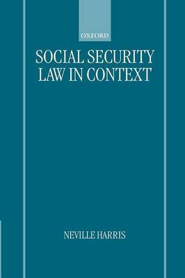 Social Security Law in Context image