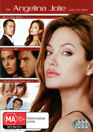 Angelina Jolie Collection (3 Disc Set) on DVD