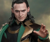 "Thor: The Dark World Hot Toys Loki 12"" Action Figure image"