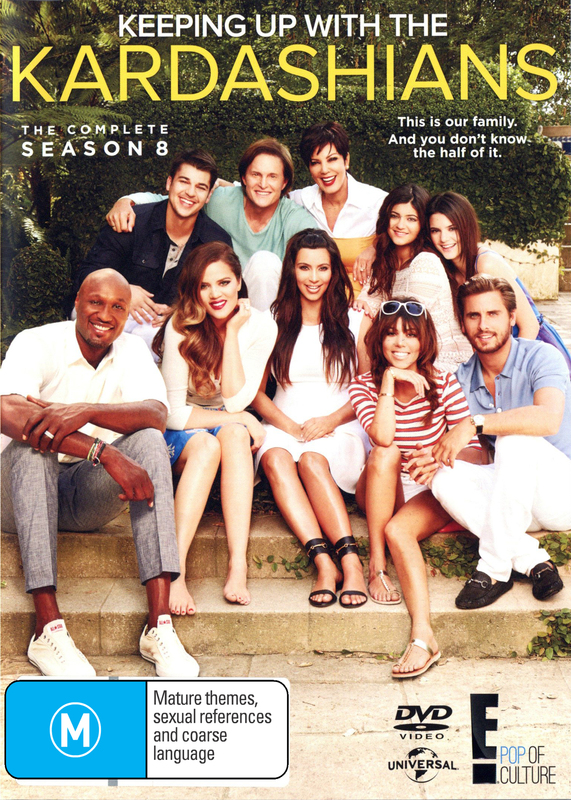 Keeping Up with the Kardashians - Season 8 on DVD