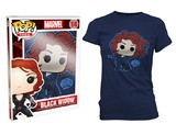 Avengers: Age of Ultron - Black Widow Pop! T-Shirt Womens (Small)