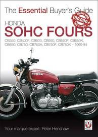 Honda SOHC Fours by Peter Henshaw