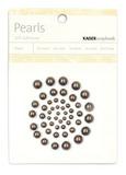 Kaisercraft: Self Adhesive Pearls - Pewter