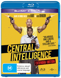 Central Intelligence on Blu-ray image