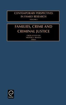 Families, Crime and Criminal Justice image