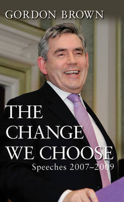 The Change We Choose by Gordon Brown image