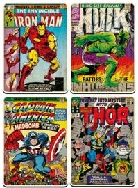 Marvel: Comic Coasters - Set of 4