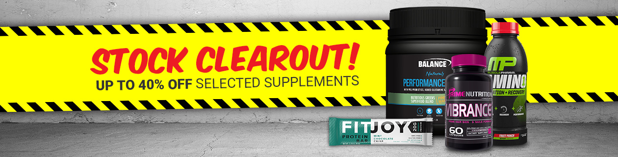 40% off Selected Supplements!
