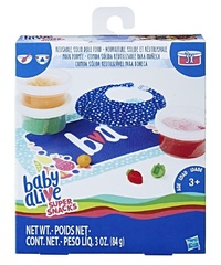 Baby Alive: Super Snacks - Reusable Solid Doll Food Refill Pack